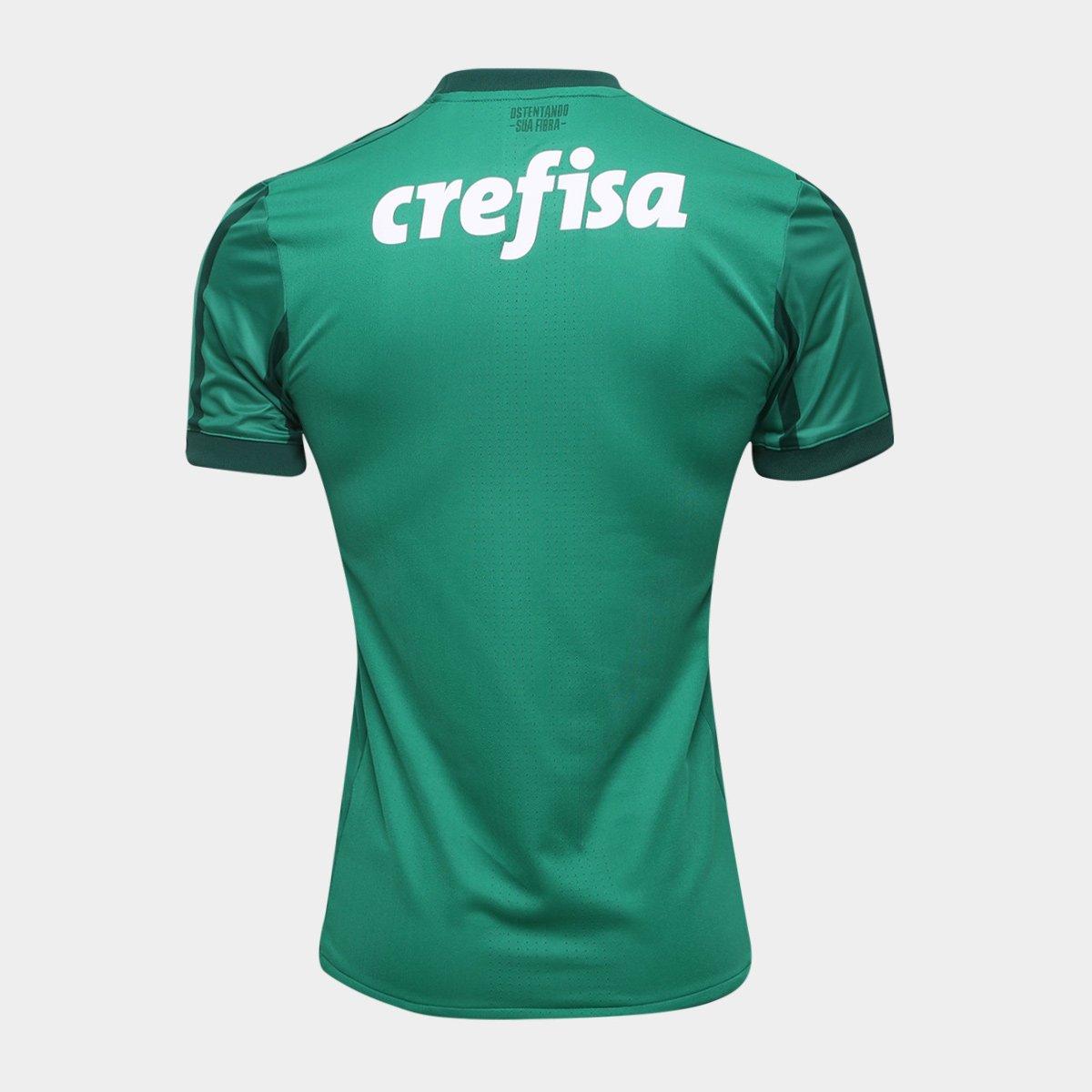 12559e0dcd Camisa Palmeiras I s n° 17 18 - Jogador Adidas Masculina - Compre ...