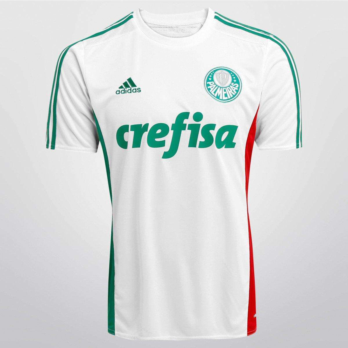 7a0f11e483 Camisa Palmeiras II 15 16 s nº - Torcedor Adidas Masculina - Compre Agora