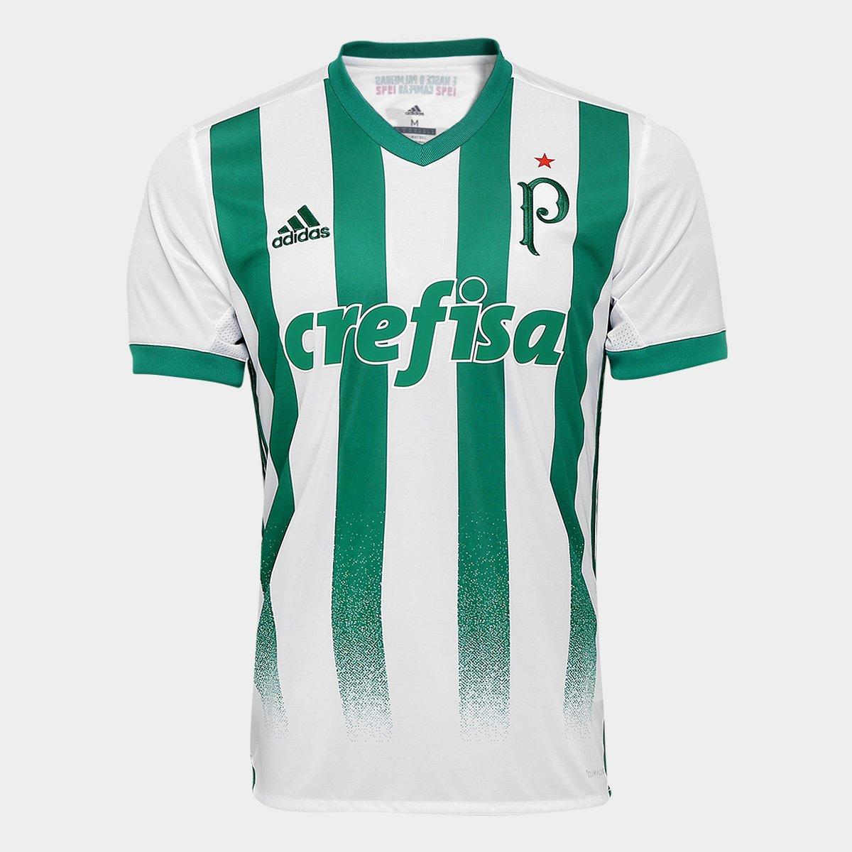 Camisa Palmeiras II 17 18 S Nº Mundial de 1951 Torcedor Adidas Masculina - Compre  Agora  61188f9b1348f