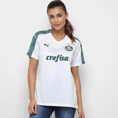 Camisa Palmeiras II 19/20 s/n° - Torcedor Puma Feminina - Feminino