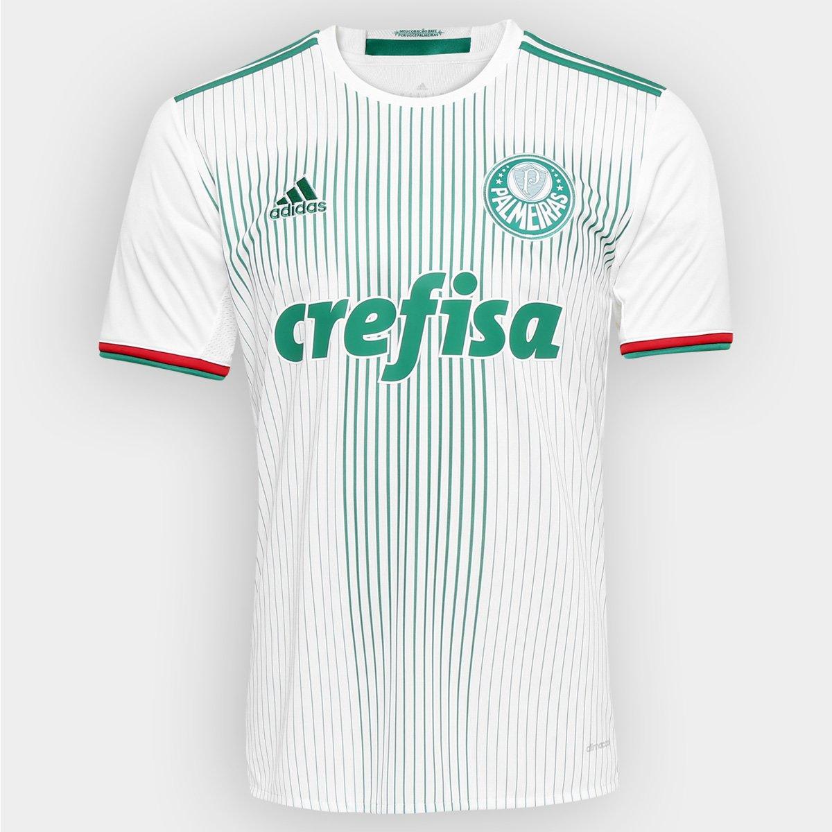 cd4c44cb8f737 Camisa Palmeiras II 2016 s nº Adidas Torcedor Masculina - Compre Agora