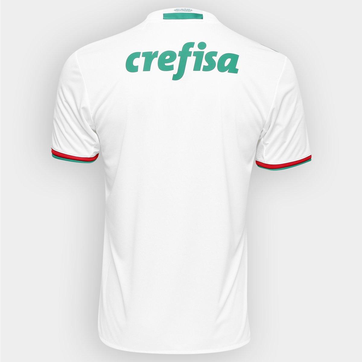 Camisa Palmeiras II 2016 s nº Adidas Torcedor Masculina - Compre ... 833d30e331fbc