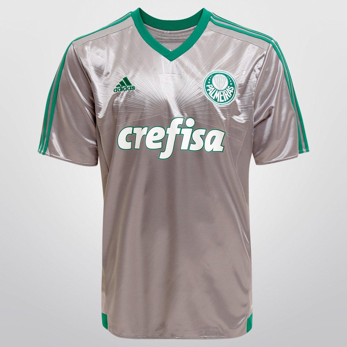 b950b9c0aa939 Camisa Palmeiras III 15 16 s nº Torcedor Adidas Masculina - Compre Agora