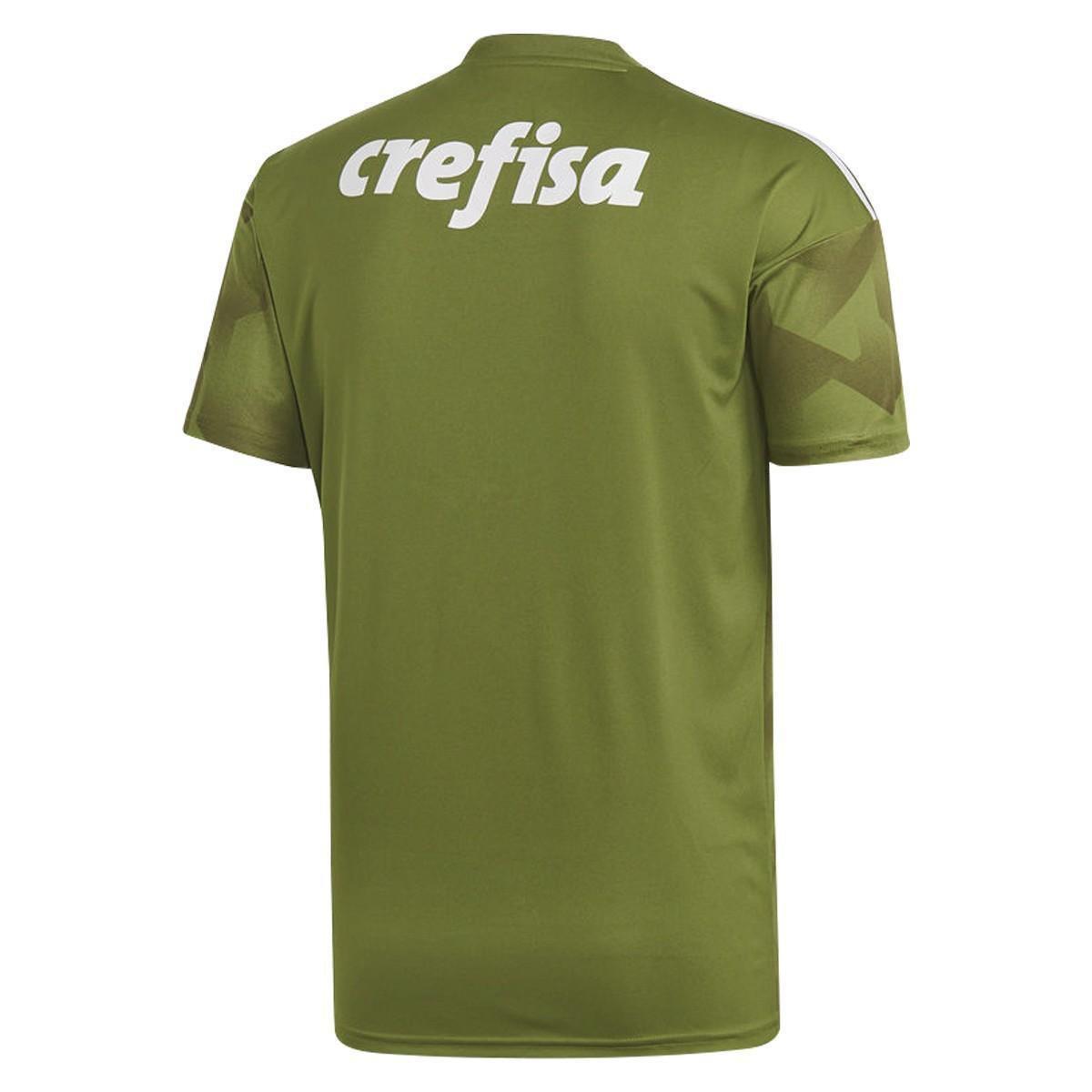 8faa6cc20c Camisa Palmeiras III 2018 s n° - Torcedor Adidas Masculina - Verde ...