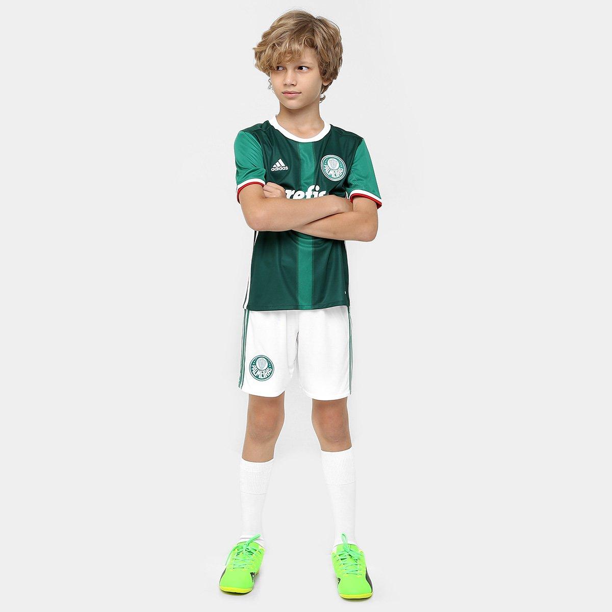 Camisa Palmeiras Infantil I 2016 s nº - Torcedor Adidas - Compre ... c447631b1ea46