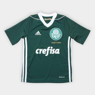Camisa Palmeiras Infantil Obsessão Edição Limitada Adidas