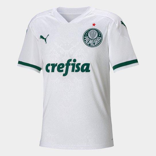 Camisa Palmeiras Juvenil II 20/21 s/n° Torcedor Puma - Branco