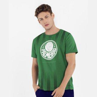 Camisa Palmeiras Meia Malha Logo