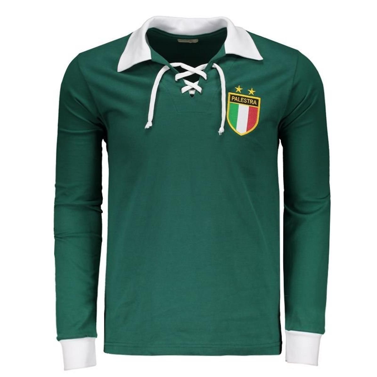 Camisa Palmeiras Retrô 1926 Manga Longa Masculina - Compre Agora ... 90441f60269ee