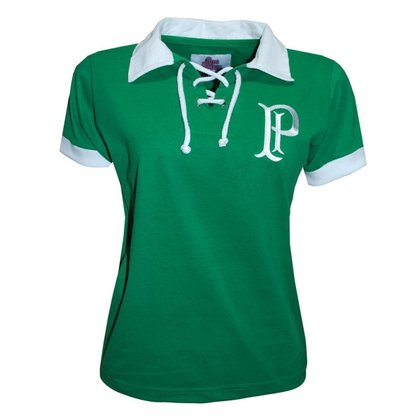 Camisa Palmeiras Retrô Feminina 1914/1915 Oficial