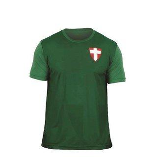 Camisa Palmeiras Retrô Vintage Cruz de Savóia