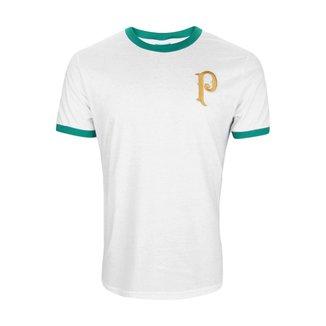 Camisa Palmeiras Retrô Vintage Gold Away
