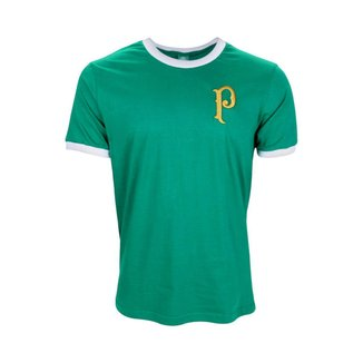 Camisa Palmeiras Retrô Vintage Gold Home