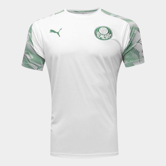 seriamente simpático tomar el pelo  Camisa Palmeiras Treino 20/21 Puma Masculina - Branco e Verde | Netshoes