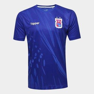 Camisa Paraná Aquecimento Juvenil Topper 20