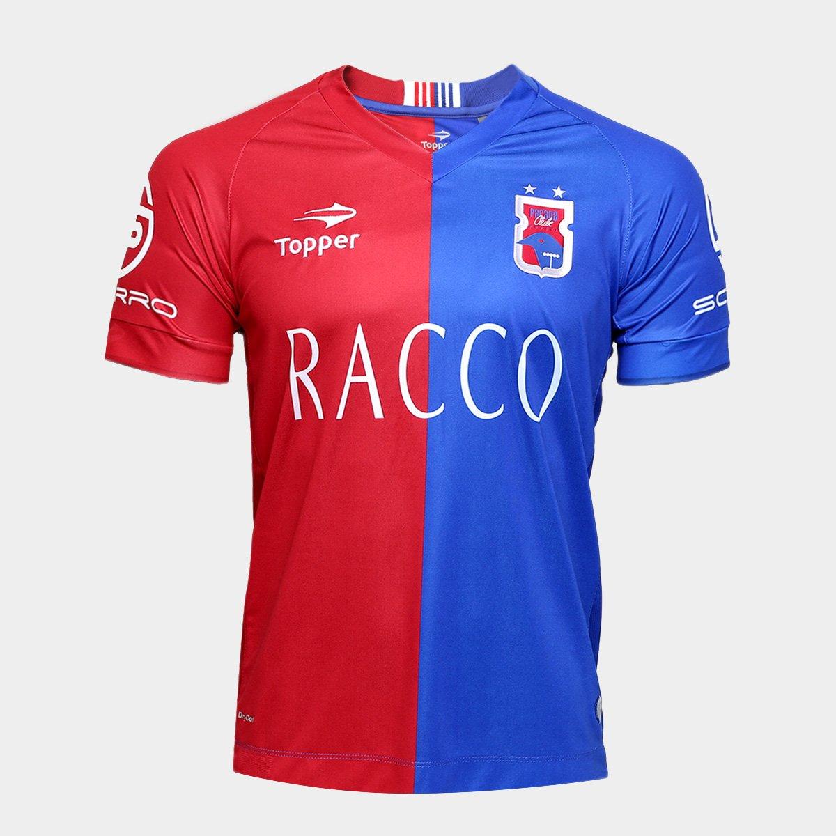 Camisa Paraná I 16 17 n° 10 - Torcedor Topper Masculina - Compre Agora  7d497a6d82dd3