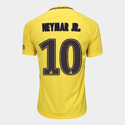 3b70b86251 Camisa Paris Saint Germain Away 17 18 Nº 10 Neymar Jr Torcedor Nike  Masculina