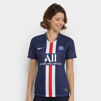 Camisa Paris Saint-Germain Home 19/20 s/n° Torcedor Nike Feminina