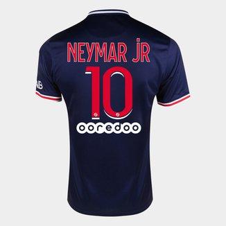 Camisa Paris Saint-Germain Home 20/21 nº 10 Neymar Jr - Torcedor Nike Masculina