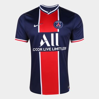 Camisa Paris Saint-Germain Home 20/21 s/n° Torcedor Nike Masculina