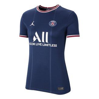 Camisa Paris Saint-Germain Home 21/22 s/n° Torcedor Nike Feminina