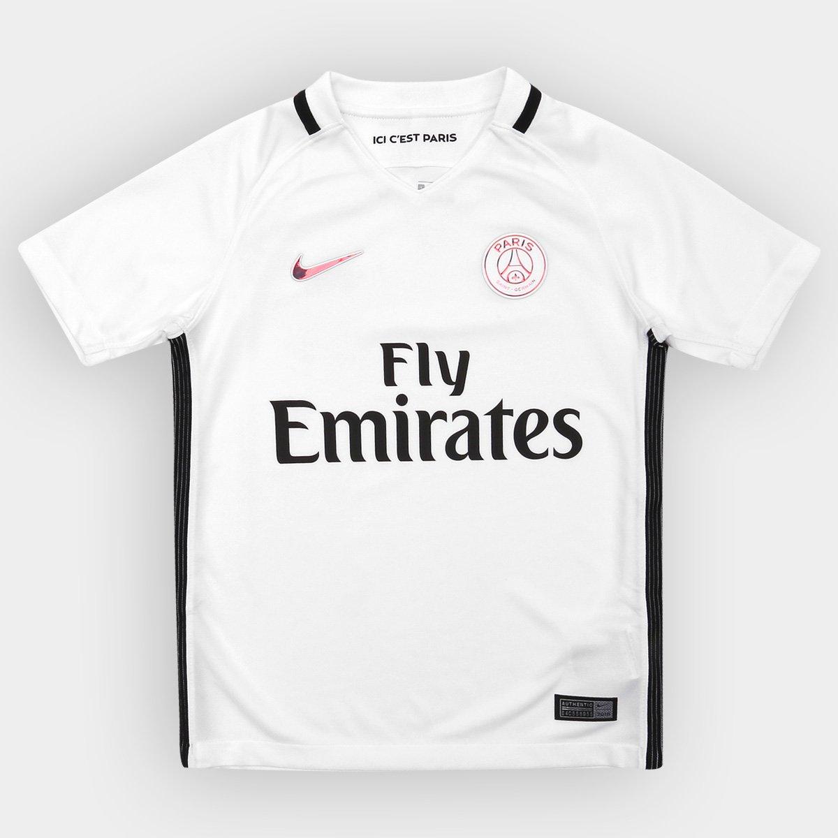 Camisa Paris Saint-Germain Infantil Third 16 17 s nº Torcedor Nike - Compre  Agora  3b68274a99517