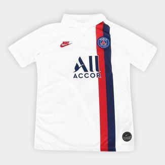 Camisa Paris Saint-Germain Infantil Third 19/20 s/nº Torcedor Nike