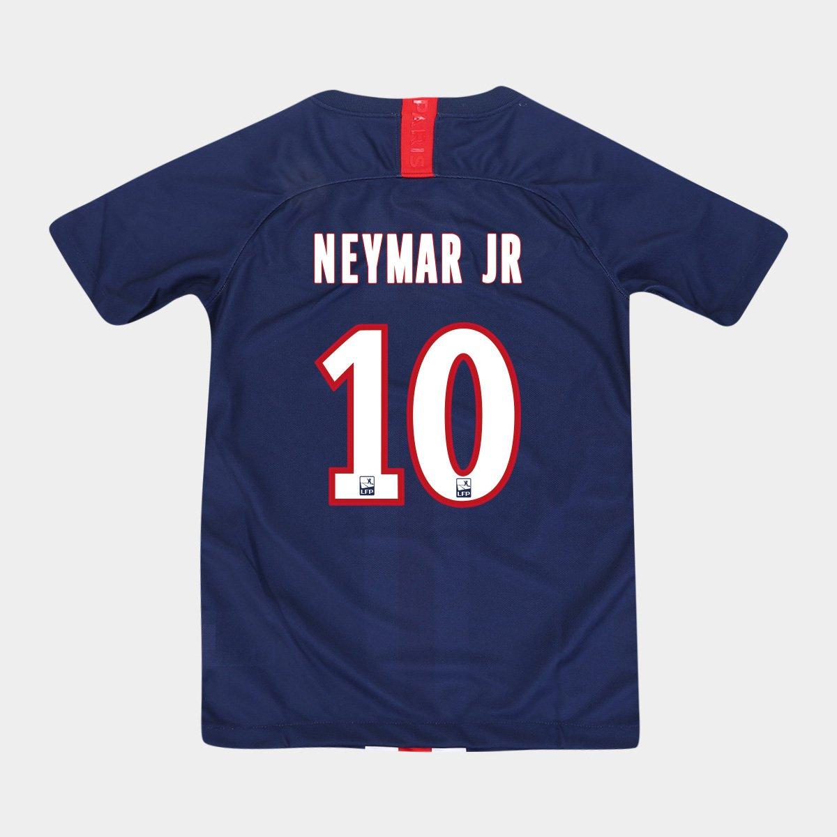 Camisa Nike PSG Home 2019 10 Neymar