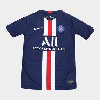Camisa Paris Saint-Germain Juvenil Home 19/20 s/n° Torcedor Nike