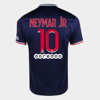 Camisa Paris Saint-Germain Juvenil Home 20/21 - nº 10 Neymar Jr - Torcedor Nike