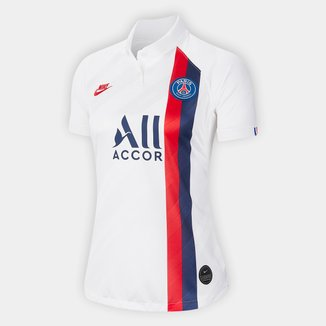 Camisa Paris Saint-Germain Third 19/20 s/nº Torcedor Nike Feminina