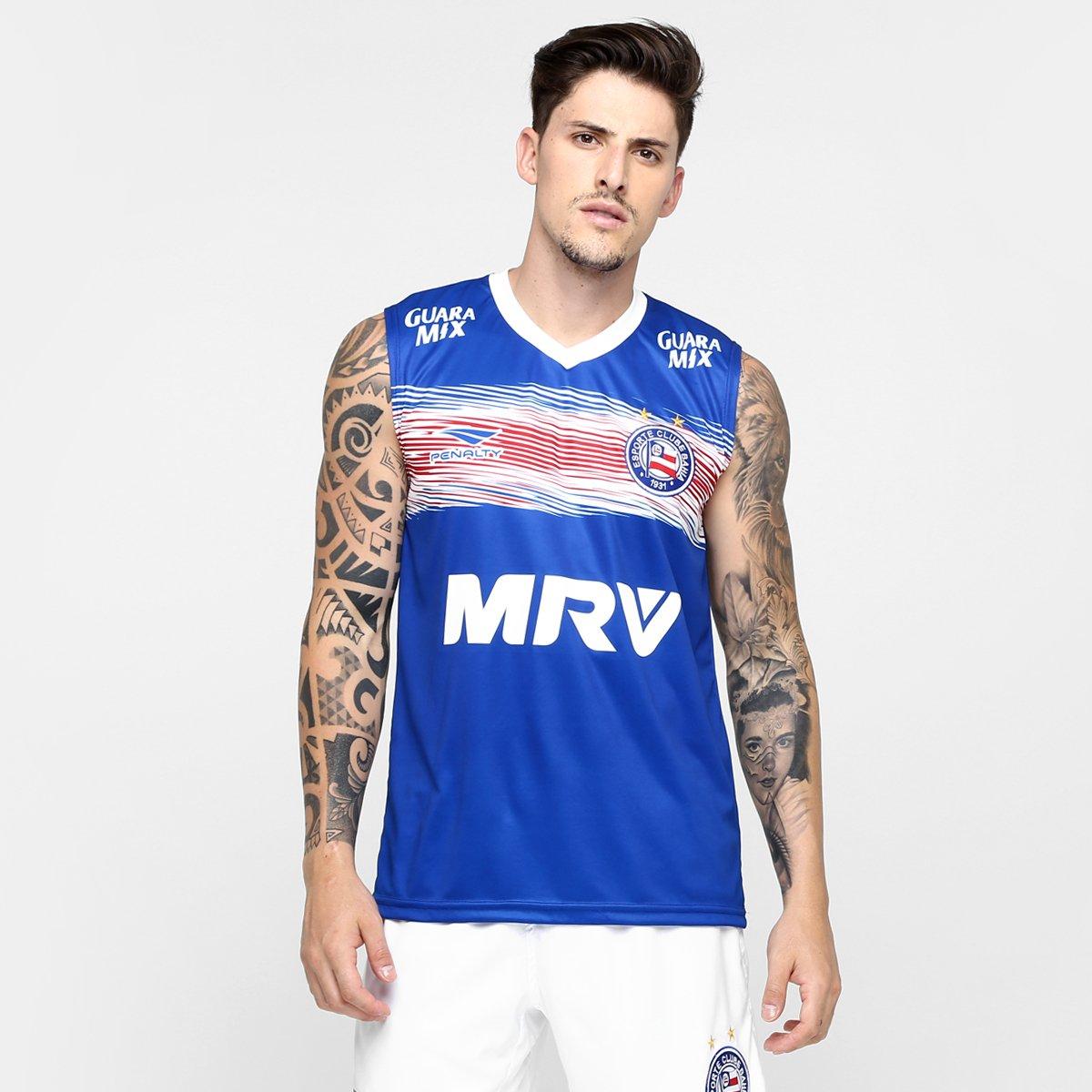 Camisa Penalty Bahia Regata Treino 2016 - Compre Agora  78324917ab3e6