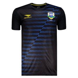 Camisa Penalty Brasil CBFS Futsal 2019 Aquecimento Masculina