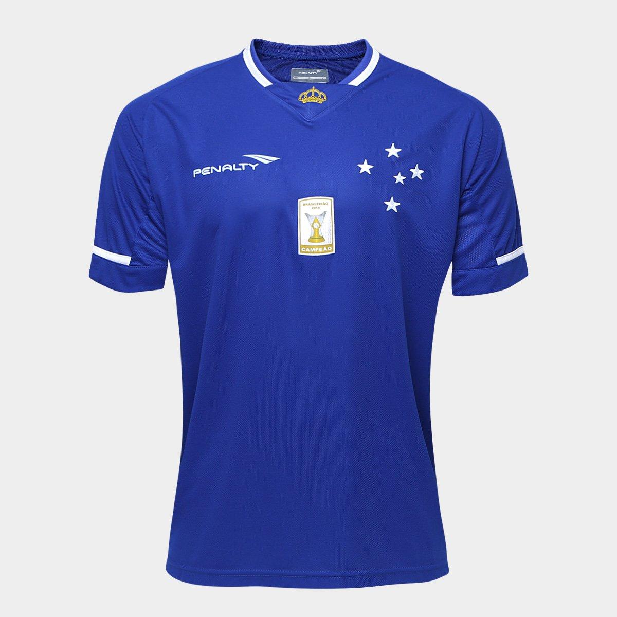 Camisa Penalty Cruzeiro I 15 16 s n° - Compre Agora  f7c53420bec92