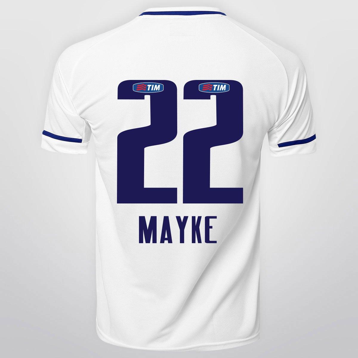 Camisa Penalty Cruzeiro II 15 16 nº 22 - Mayke - Compre Agora  e86a3e3593c44