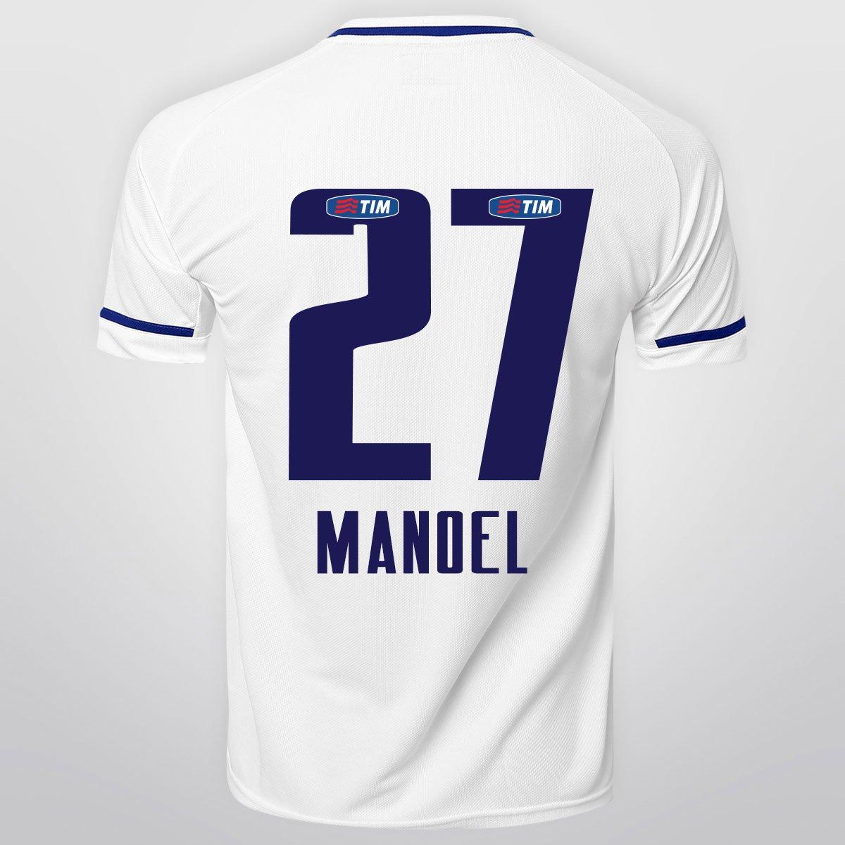 2a54361d11 Camisa Penalty Cruzeiro II 15 16 nº 27 - Manoel - Compre Agora ...