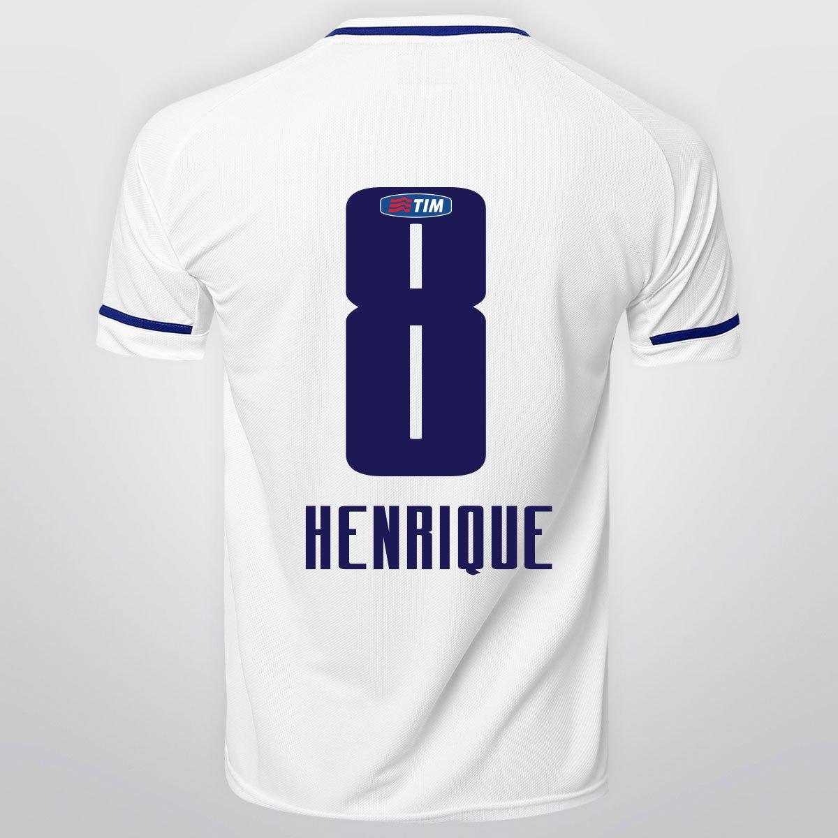 Camisa Penalty Cruzeiro II 15 16 nº 8 - Henrique - Compre Agora ... d1bf13564ea5a