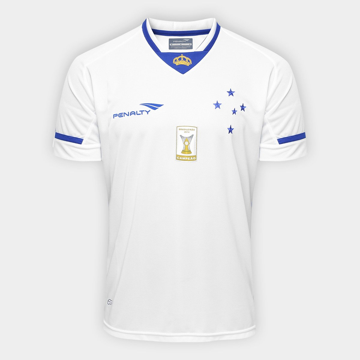 d3ca22d27eaa0 Camisa Penalty Cruzeiro II 15 16 s n° Masculina - Compre Agora ...