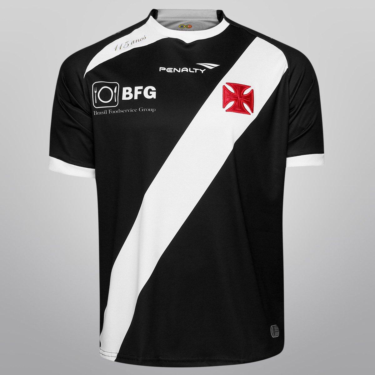 Camisa Penalty Vasco I 13 14 nº 10 - Compre Agora  1e64ab74436b8