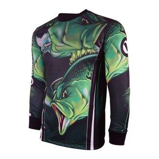Camisa - Pesca Esportiva - Black Bass 2019 Dry Uv 50 Protection Adulto