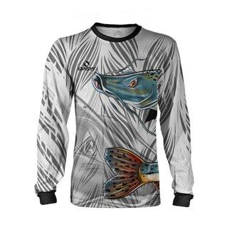 Camisa Pesca Quisty Pintado Infantil Proteção UV Dryfit