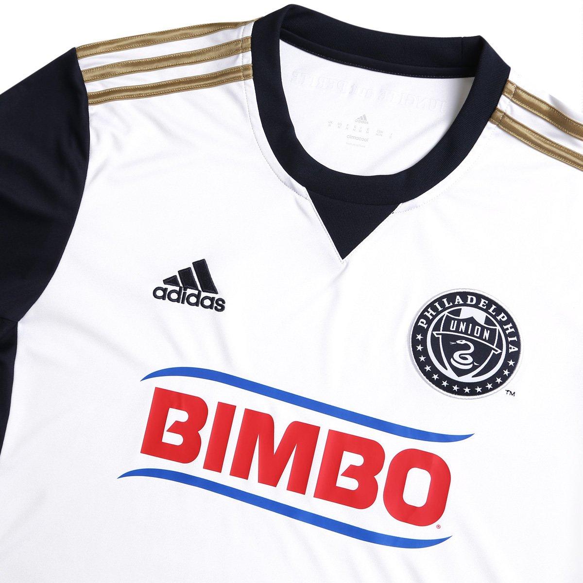 5ed48856f9 ... Camisa Philadelphia Union MLS Away 17 18 s nº Torcedor Adidas Masculina