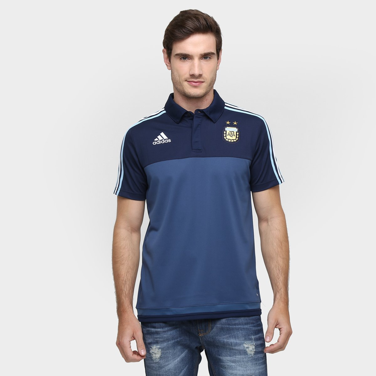 6ac4cf83a40b6 Camisa Polo Adidas Argentina - Compre Agora