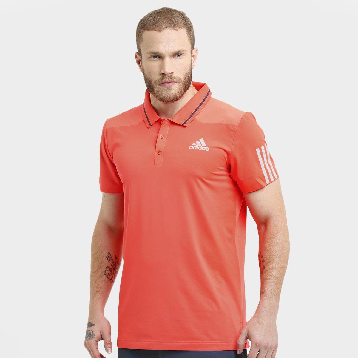 66343eae25 Camisa Polo Adidas Barricade - Compre Agora