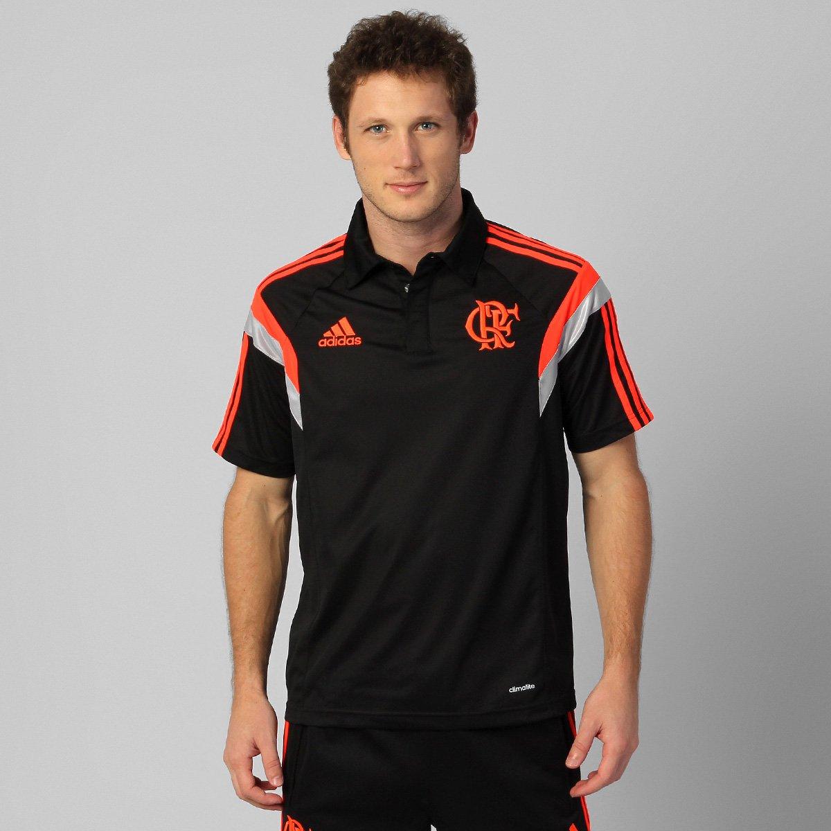 c163a308e0 Camisa Polo Adidas Flamengo Viagem 2014 - Compre Agora