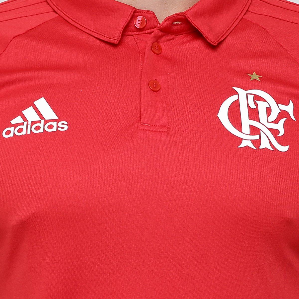 8776765401 Camisa Polo Adidas Flamengo Viagem - Compre Agora