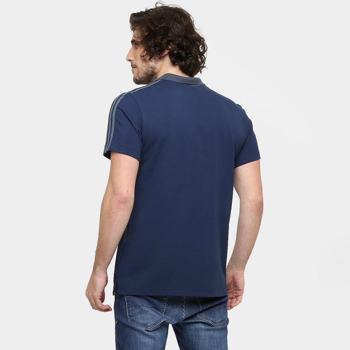 cd3943d8c3 Camisa Pólo Adidas France Ess - Compre Agora