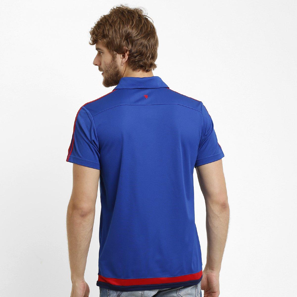 Camisa Polo Adidas Manchester United Viagem - Compre Agora  01d67a2e20832