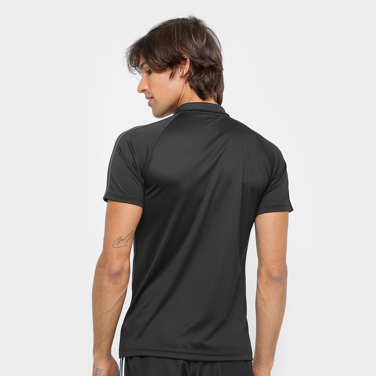 Camisa Polo Adidas Real Madrid Viagem - Compre Agora  b794d9c5b37ab