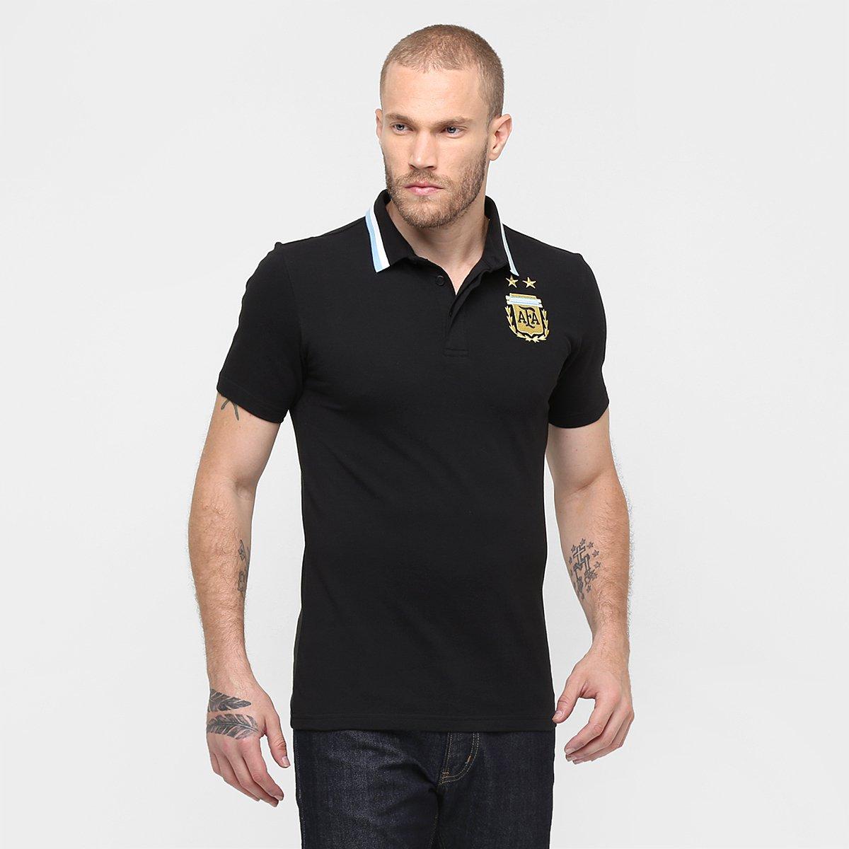 a62e6c772312b Camisa Polo Adidas Seleção Argentina - Compre Agora